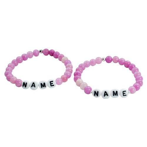 LADY PINK COUPLE - WHITE LETTERS